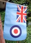 HAND WAVING FLAG - RAF Ensign